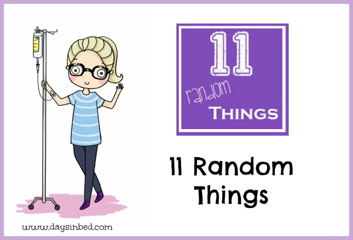 11 Random Things About Me –