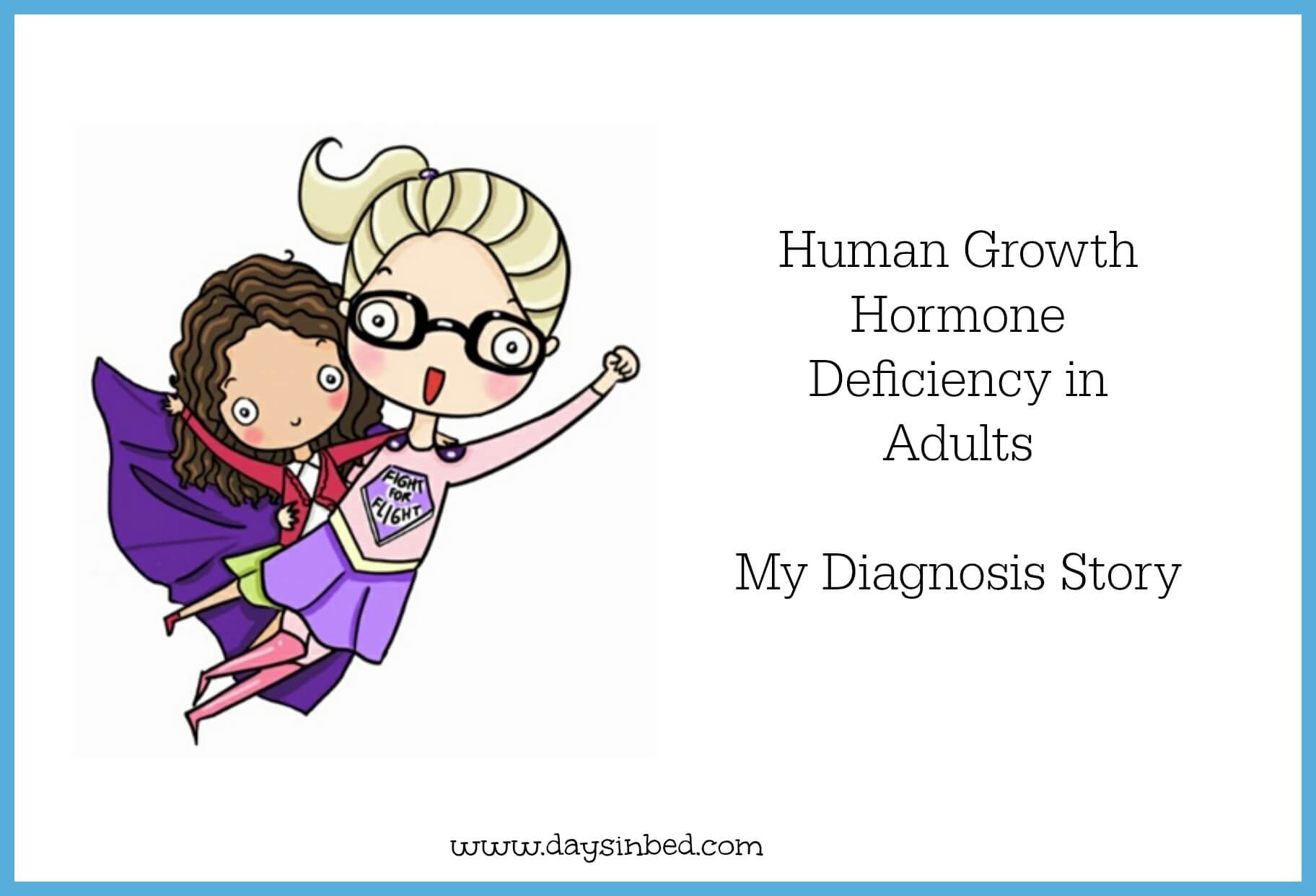 Words... super, Growth hormone disorders in adults was